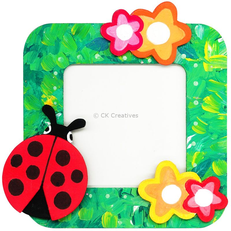 Diy 3d Photo Frame Kit Ladybird