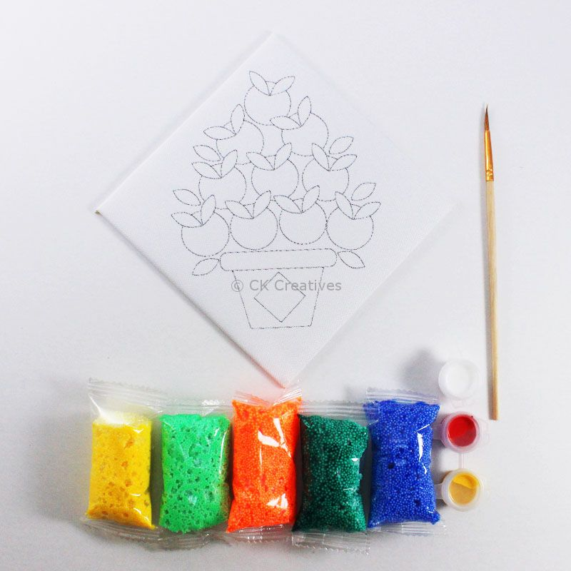 42ca026f0f9 ... Chinese New Year Foam Clay Canvas Kit - Content ...
