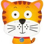 Sand Art Animals Deco Board - Tabby Kitty