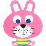 Sand Art Animals Deco Board - Riley Rabbit