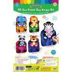 3D Zoo Animal Key Hanger Kit