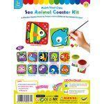 Sea Animal Coaster Kit
