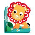 Animal Bookend Safari Theme - Lionel Lion