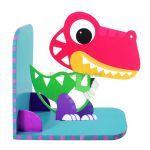 Animal Bookend Jurassic Theme - T-Rex