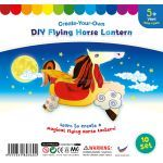 Flying Horse Lantern - Pack of 10
