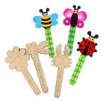 Fancy Bug Ruler - Pack of 6