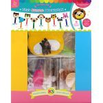 Felt Animal Bookmark Party Kit - Pack of 20
