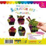 Scratch Art Cupcake Kit