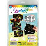 Tangle Scratch Art - Awesome Dino Kit