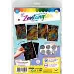 Tangle Scratch Art - Sealife Kit