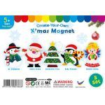 Christmas Magnet - Pack of 5