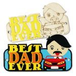 Father's Day Deco Pack of 3