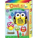 Felt 4-in-1 Owls Box Set