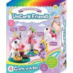 Unicorn Friends Clay Box Kit - 4-in-1
