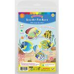 5-in-1 Sand Art Fish Board Kit - Packaging Front