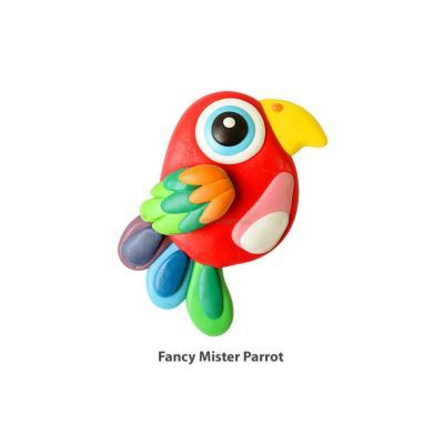 My-Clay Cutie Clay - Fancy Mister Parrot