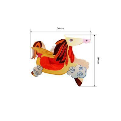 Flying Horse Lantern - Pack of 10