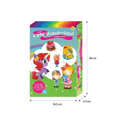 Sweet Girls' Wonderland Magnet Fun Box Kit - Size