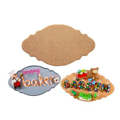 MDF Plaque 6mm (Frilly)