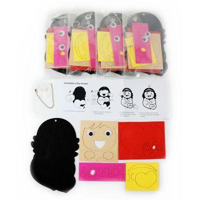 Felt Mother's Day Hanger Pack of 5 - Content