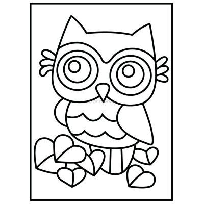 LED Wooden Lantern Kit - Owl