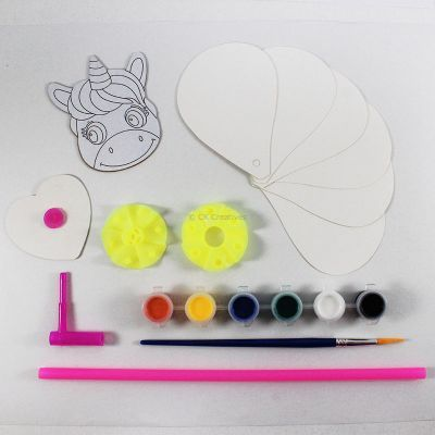 DIY Pinwheel Unicorn - Contents