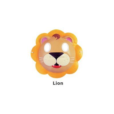 Paper Craft Mask Painting - Lion
