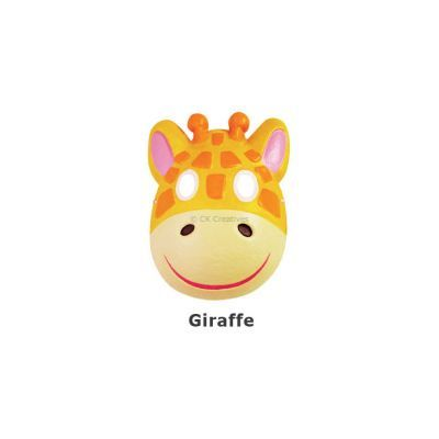 Paper Craft Mask Painting - Giraffe