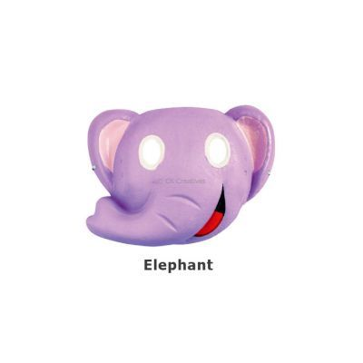 Paper Craft Mask Painting - Elephant