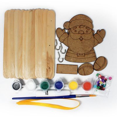 Christmas Key Hanger Kit - Contents