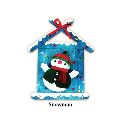 Christmas Key Hanger Kit - Snowman