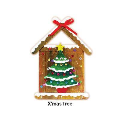 Christmas Key Hanger Kit - X'mas Tree