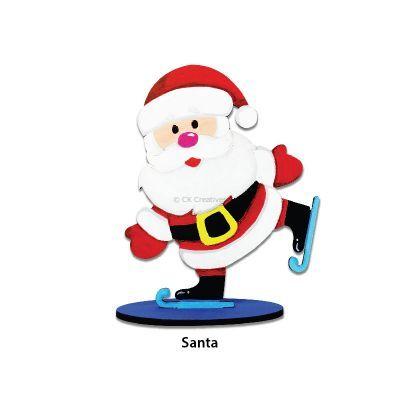 Christmas Stand Deco - Santa