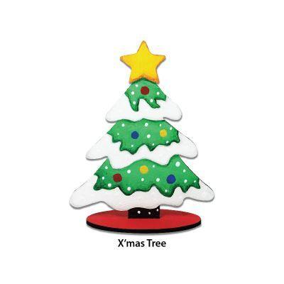 Christmas Stand Deco - X'mas Tree