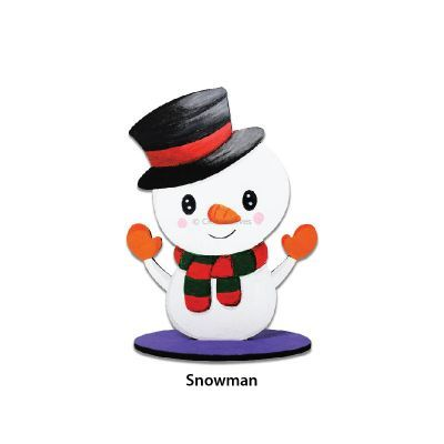 Christmas Stand Deco - Snowman