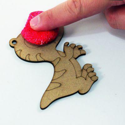 Foam Clay Dinosaur - Process