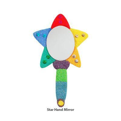 Foam Clay Hand Mirror Kit - Star