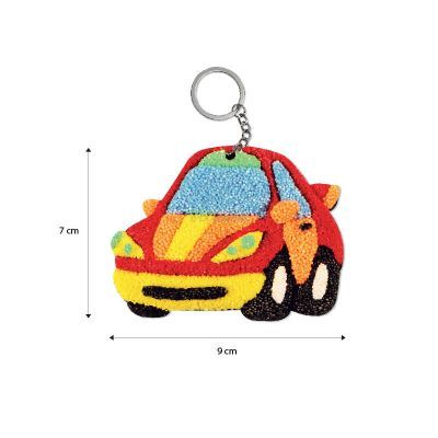 Foam Clay 2-in-1 Transport Keychain Kit - Size