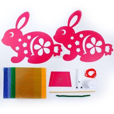 Rabbit Lantern Pack of 10 - Contents