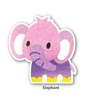 5-in-1 Sand Art Animal Board - Elephant