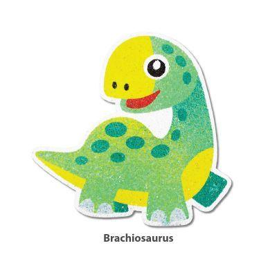 5-in-1 Sand Art Dino Board - Brachiosaurus