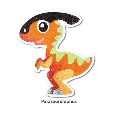5-in-1 Sand Art Dino Board - Parasaurolophus