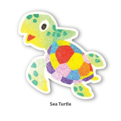 5-in-1 Sand Art Sealife Board - Sea Turtle