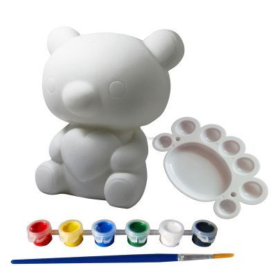 Silicone Coin Bank Painting Series C - Kit - Contents