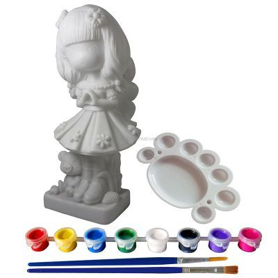 Silicone Coin Bank Painting Series F - Kit - Contents