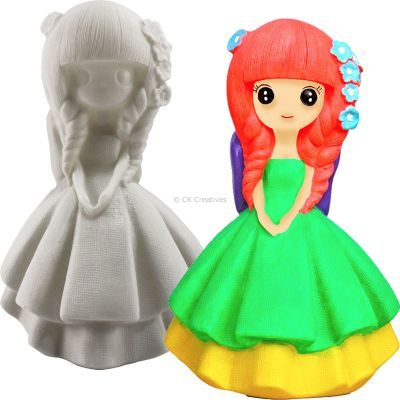 Silicone Coin Bank Painting Series D