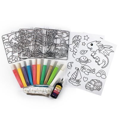 Window Art Fun Painting Box Set - Contents