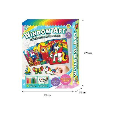 Window Art Fun Painting Box Size