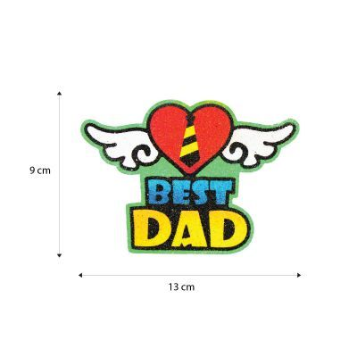 5-in-1 Sand Art Father's Day Board - Size