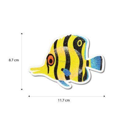 5-in-1 Sand Art Fish Board - Size